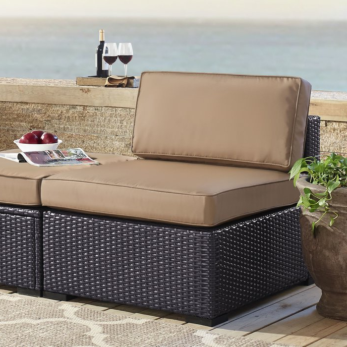 Recent Seaton Patio Chair With Cushions For Stapleton Wicker Resin Patio Sofas With Cushions (View 17 of 20)
