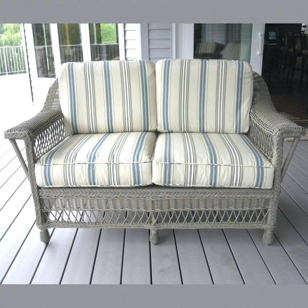 Resin Wicker Loveseat White Outdoor Cover Natural Love Seat Within Favorite Kentwood Resin Wicker Loveseats (Gallery 11 of 20)