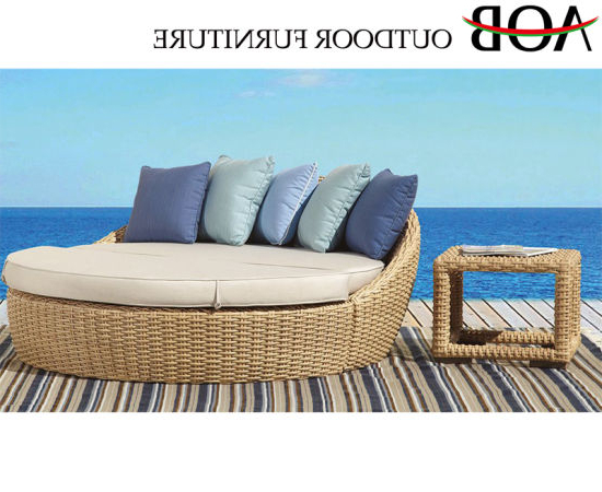 Resort Patio Daybeds Regarding 2019 China Modern Outdoor Patio Home Balcony Resort Furniture (View 12 of 20)