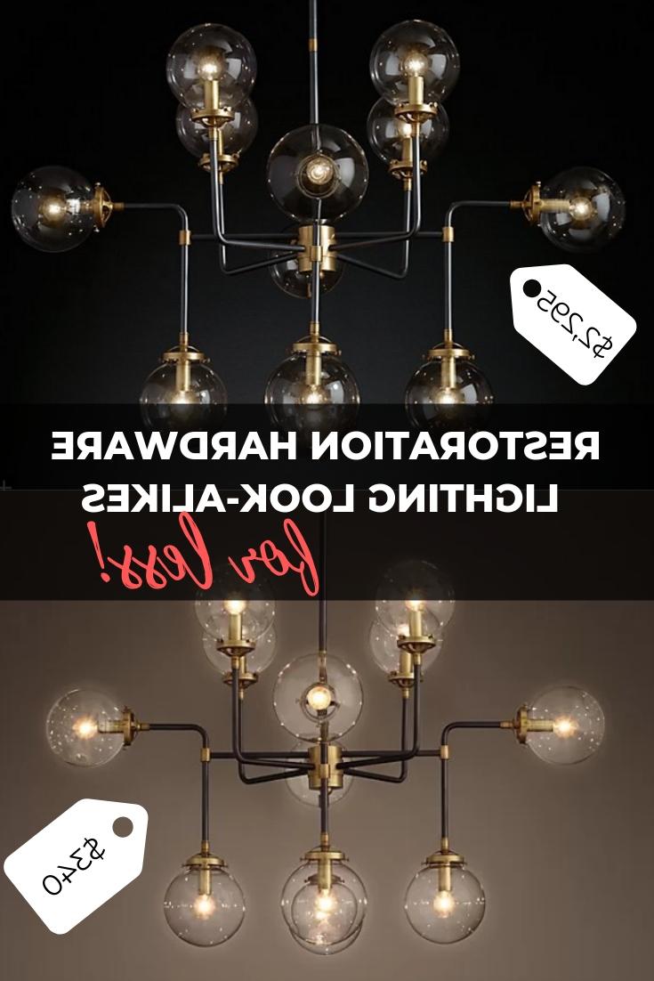 Restoration Hardware Chandelier Look Alikes For Less For Preferred Varnum 4 Light Lantern Pendants (View 12 of 20)