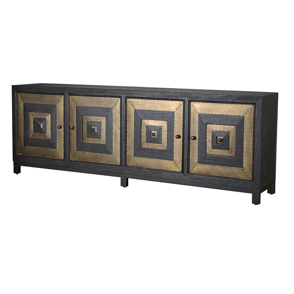Riley 4 Door Sideboard For Most Recently Released Solana Sideboards (Gallery 3 of 20)