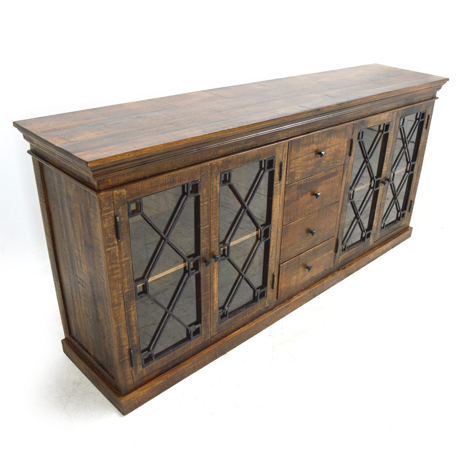 Riverdale Sideboard, Aged Java – Home Source Furniture In Most Up To Date Remington Sideboards (View 17 of 20)