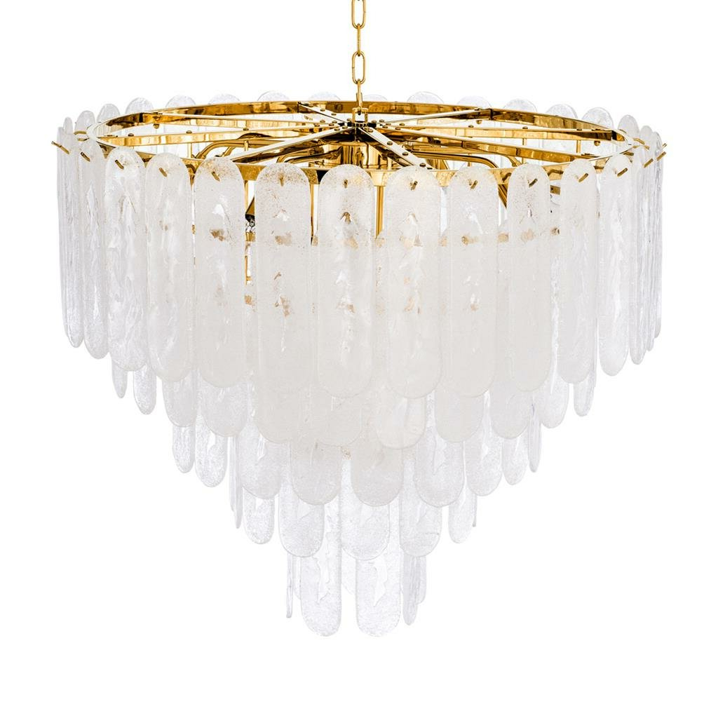 Riveria 14 Light Crystal Chandelier Regarding Most Current Benedetto 5 Light Crystal Chandeliers (View 14 of 20)