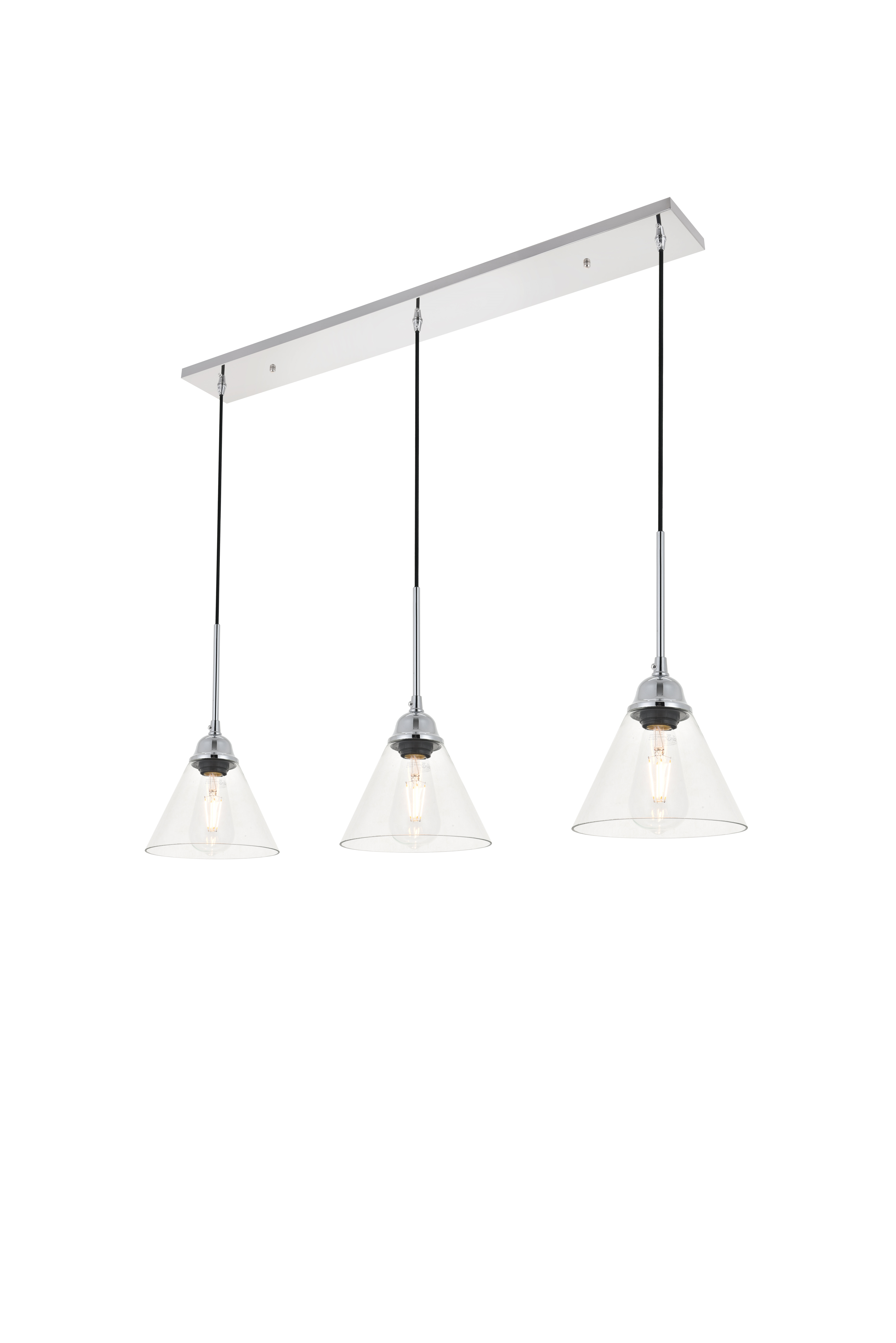 Rockland 4 Light Geometric Pendants For Best And Newest Hallsville 3 Light Kitchen Island Pendant (View 13 of 20)