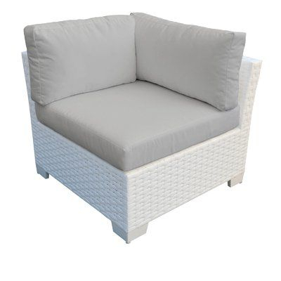 Rosecliff Heights Camak Patio Chair With Cushions Cushion Pertaining To Widely Used Camak Patio Loveseats With Cushions (View 20 of 20)