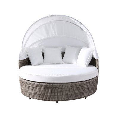 Rosecliff Heights Carrasco Patio Daybed With Cushions With Regard To Most Current Gilbreath Daybeds With Cushions (View 15 of 20)