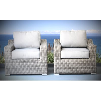 Rosecliff Heights Huddleson Patio Chair Set With Cushion In Inside 2020 Huddleson Loveseats With Cushion (Gallery 14 of 20)