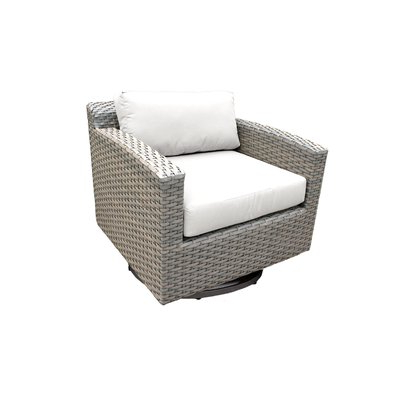 Rosecliff Heights Meeks Patio Chair With Cushions Cushion Throughout Newest Meeks Patio Sofas With Cushions (View 9 of 20)