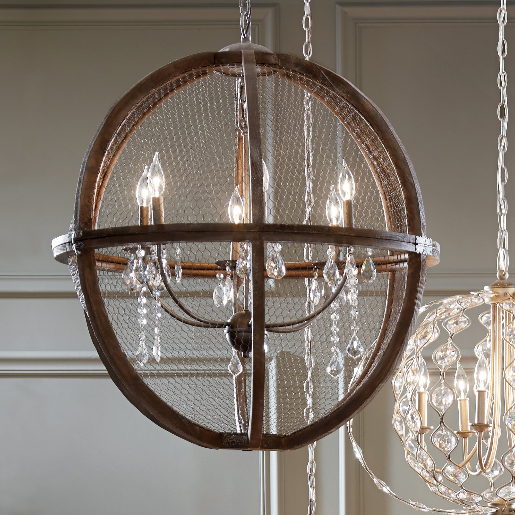 Rosemont 6 Light Globe Chandelier For Widely Used Alden 6 Light Globe Chandeliers (Gallery 6 of 20)
