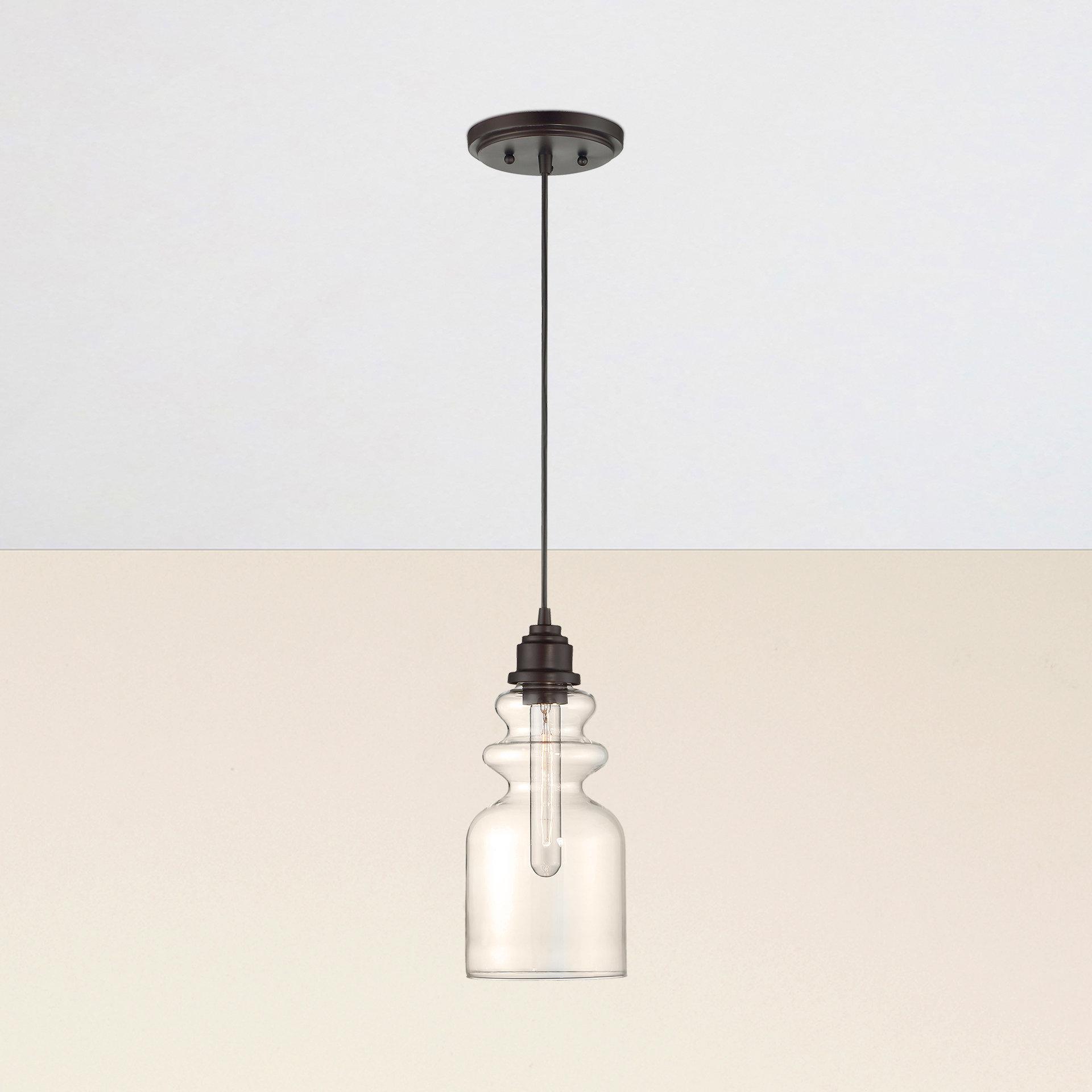 Roslindale 1 Light Single Bell Pendants In Latest Reade 1 Light Bell Pendant (View 11 of 20)
