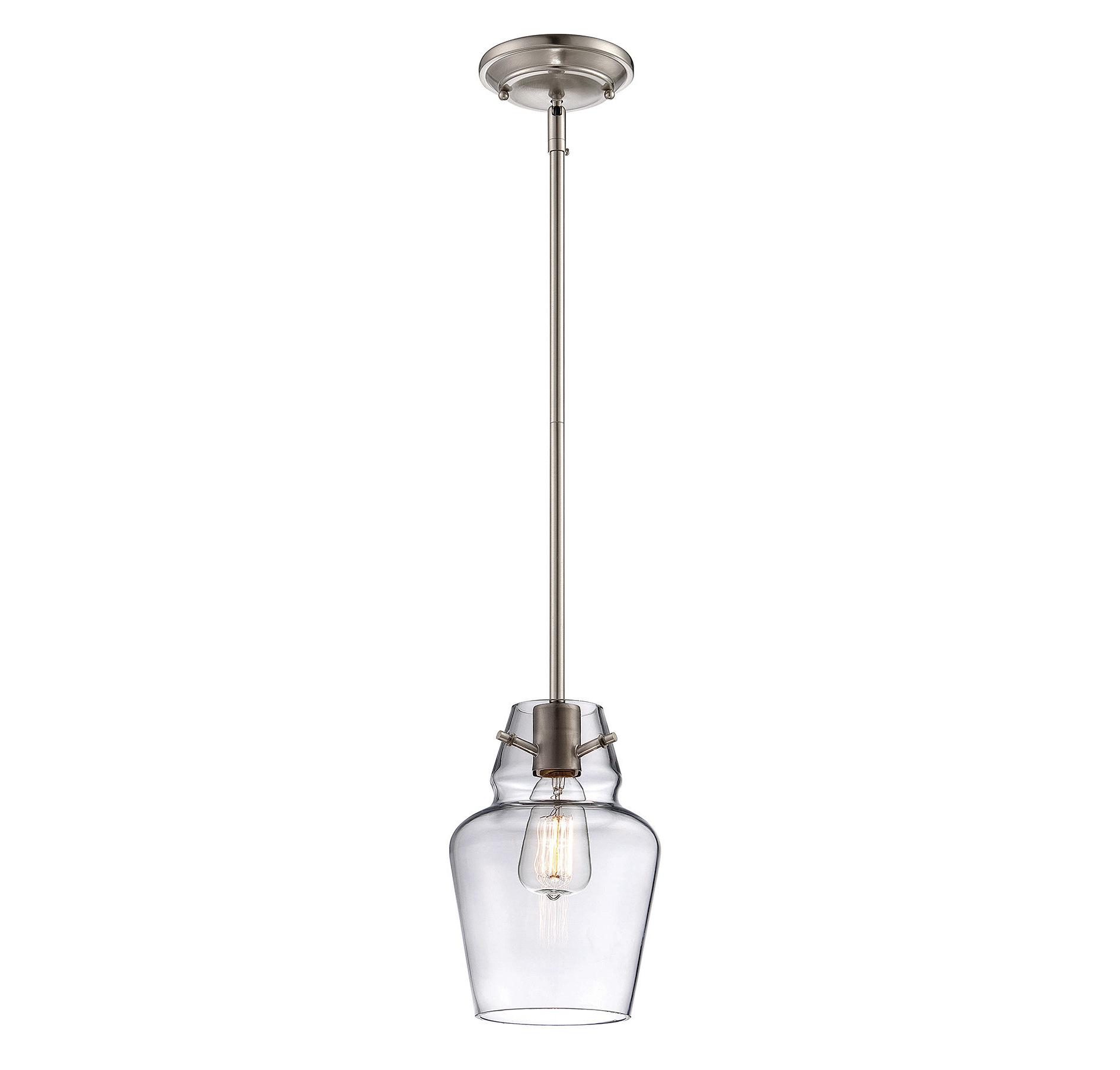 Roslindale 1 Light Single Bell Pendants Regarding Newest Roslindale 1 Light Single Bell Pendant (View 2 of 20)