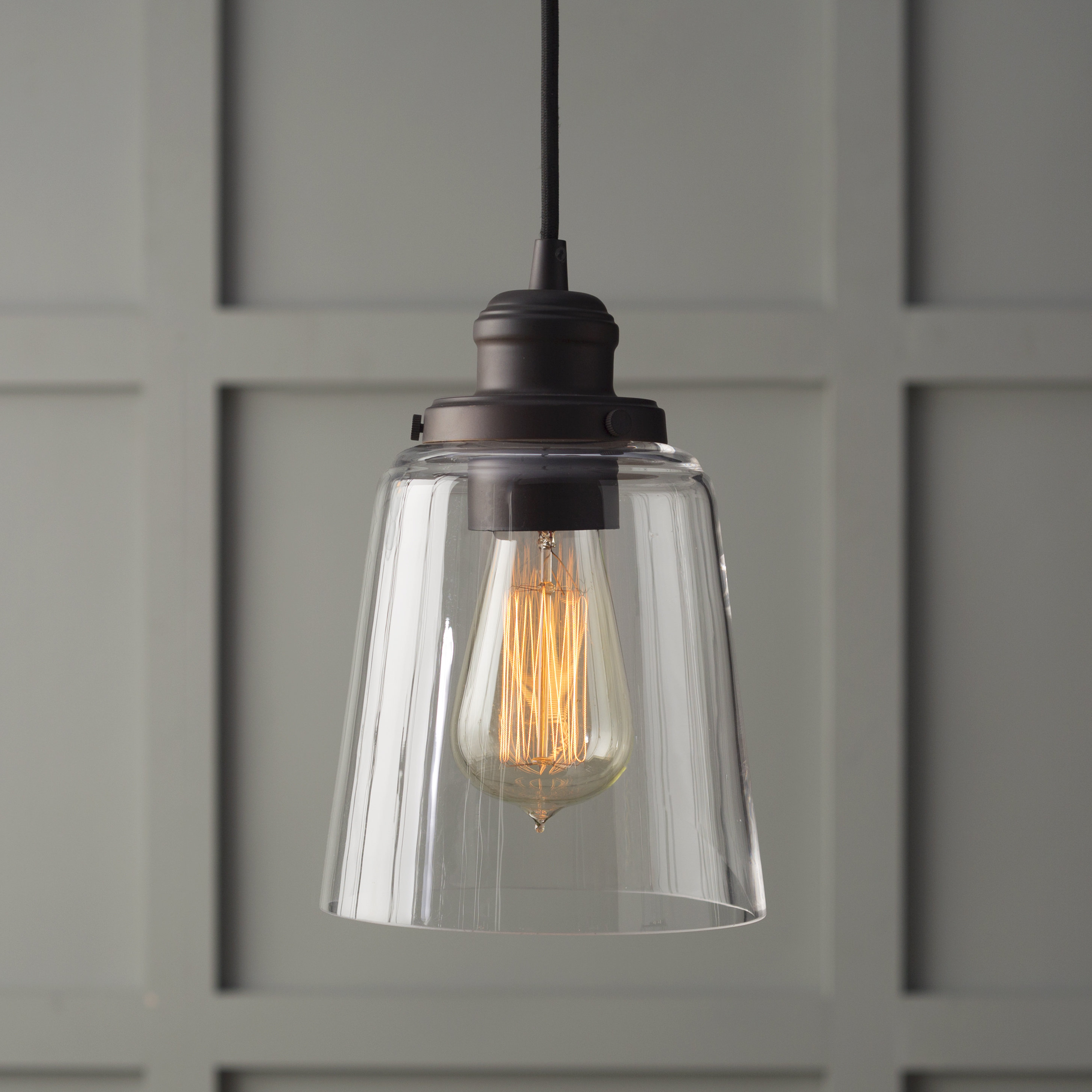 Roslindale 1 Light Single Bell Pendants With Regard To Famous 1 Light Single Bell Pendant (View 7 of 20)