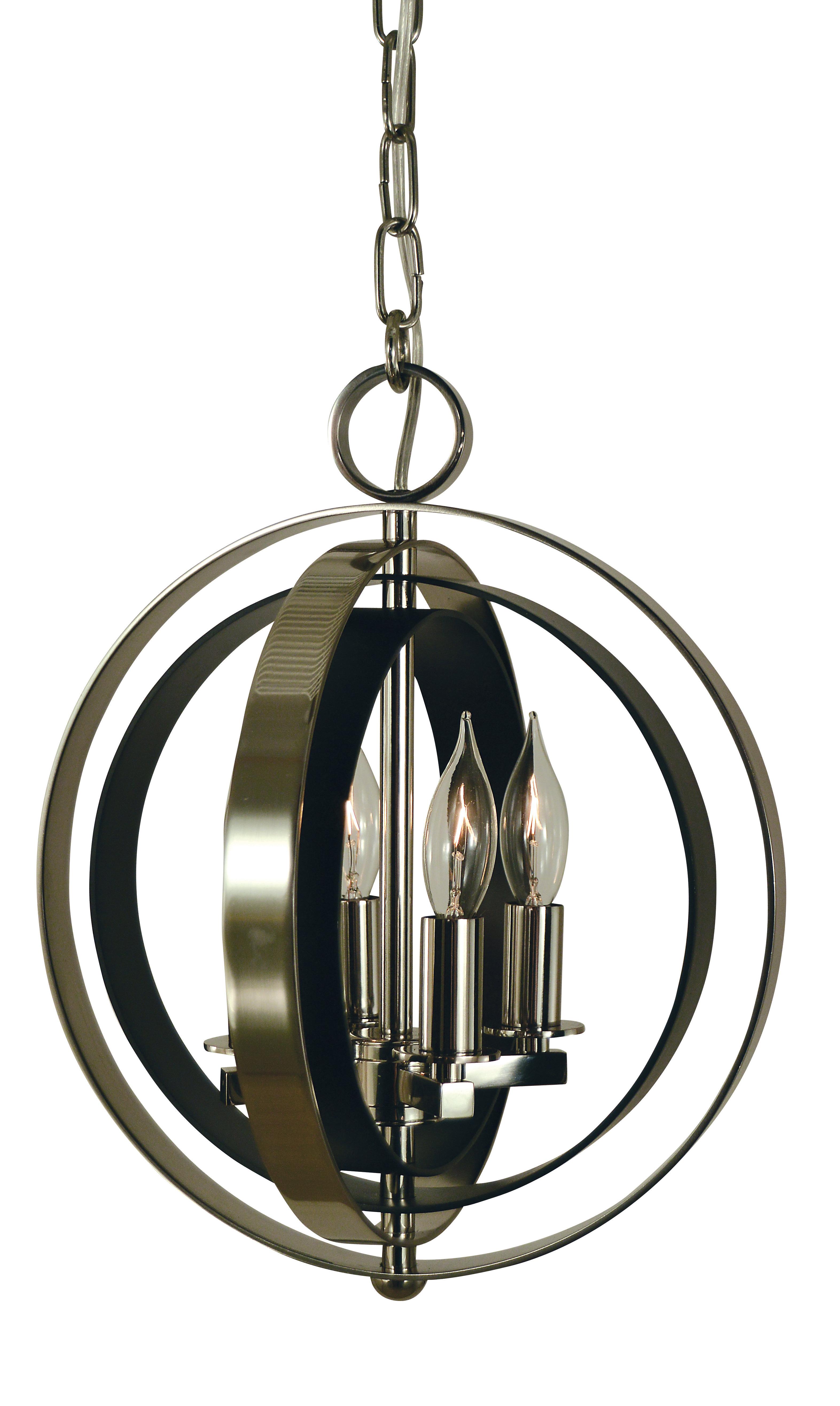 Rossi Industrial Vintage 1 Light Geometric Pendants For Most Recent Alcott Hill Parenteau 4 Light Globe Pendant (Gallery 11 of 20)