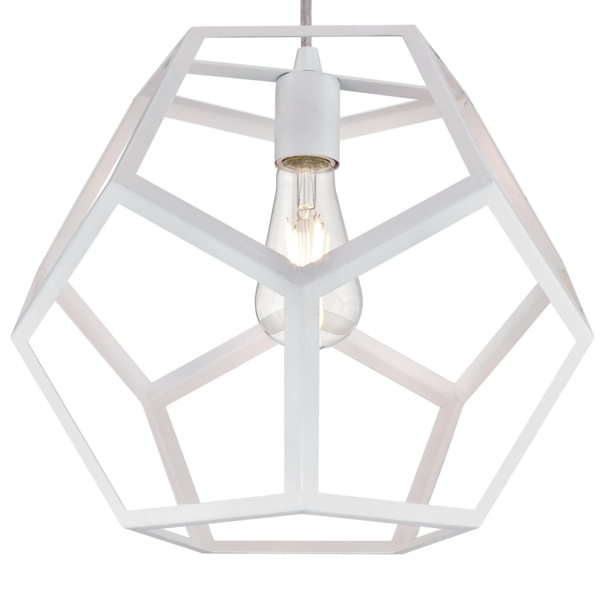 Rossi Industrial Vintage 1 Light Geometric Pendants For Most Recently Released Trahan 1 Light Geometric Pendant (Gallery 3 of 20)