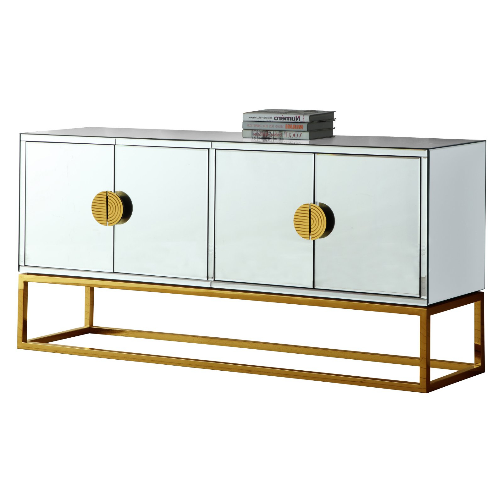 Rosson Sideboards Within Most Popular Meridian Furniture Inc Marbella Sideboard/buffet (Gallery 20 of 20)