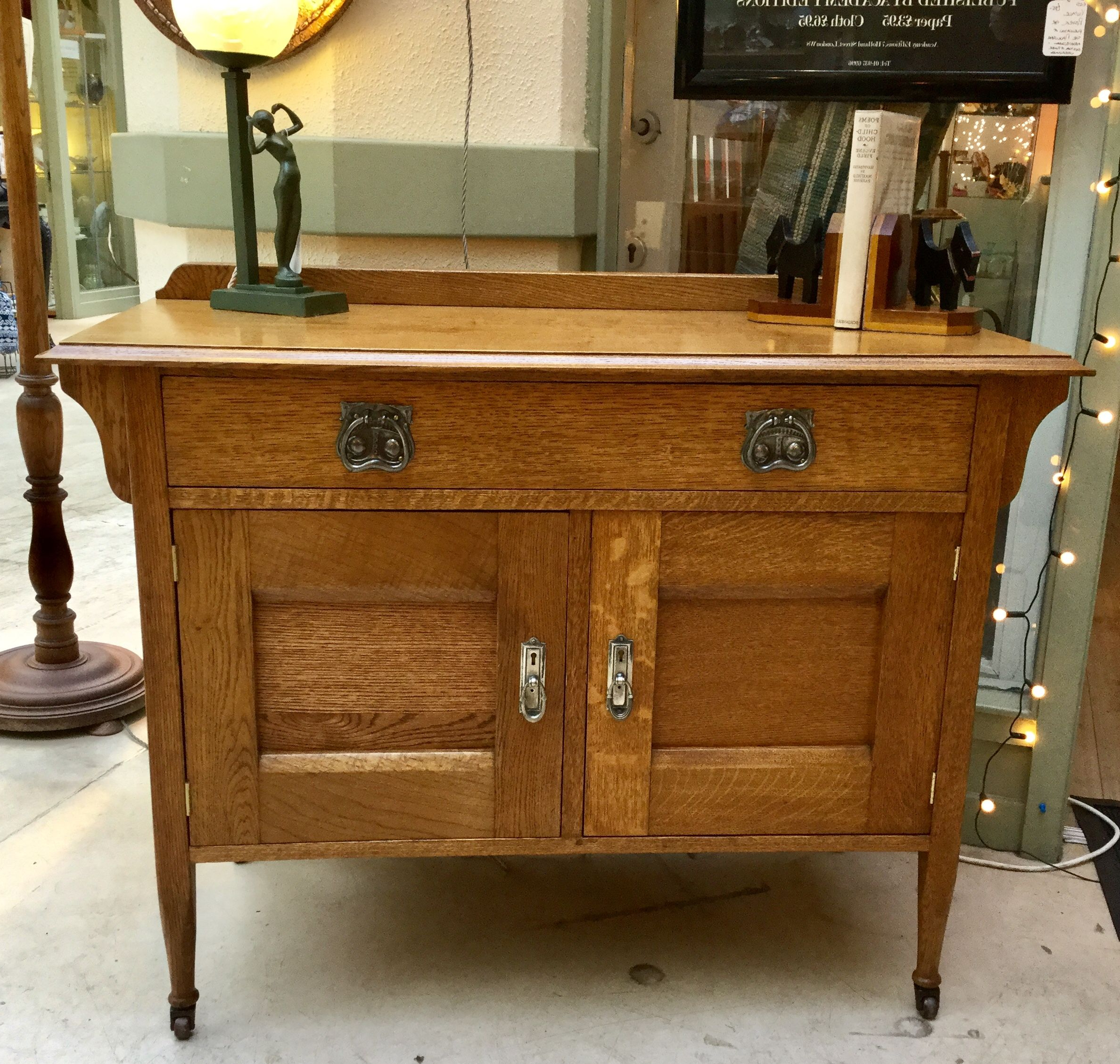 Ruskin Sideboards Regarding Most Up To Date Nice Oak Cupboard/ Sideboardharris Lebus. (View 17 of 20)