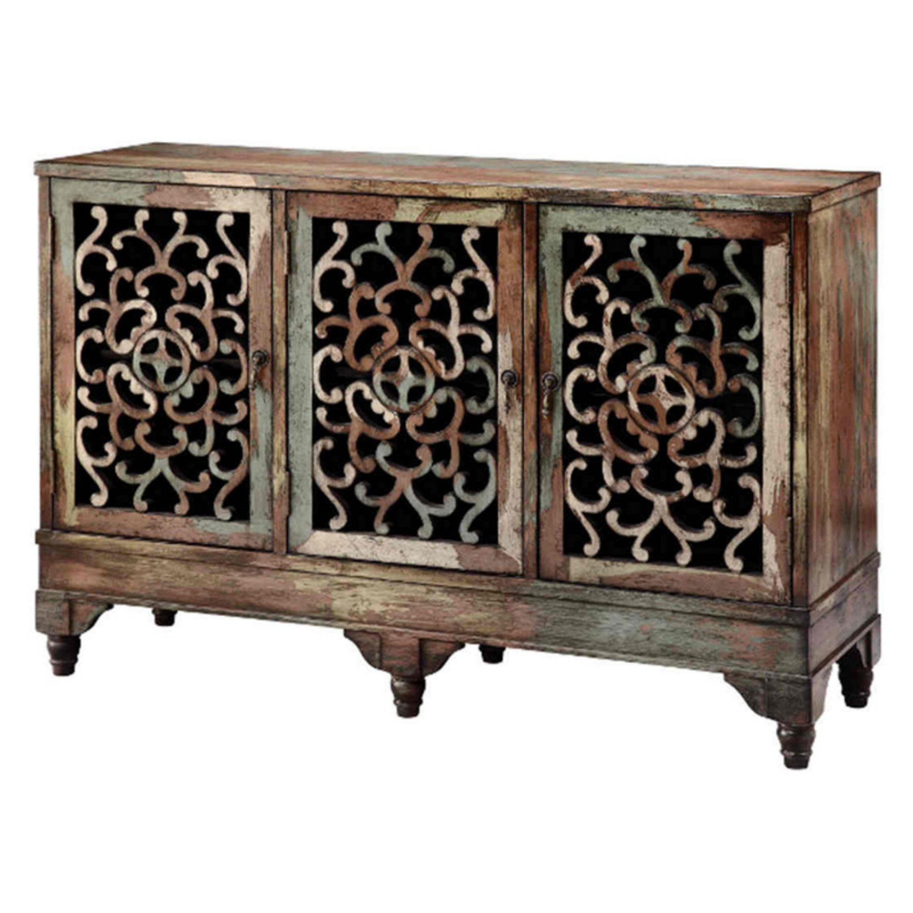 Ruskin Sideboards Throughout Fashionable Stein World Ruskin Cabinet Three Door Accent Cabinet (View 2 of 20)
