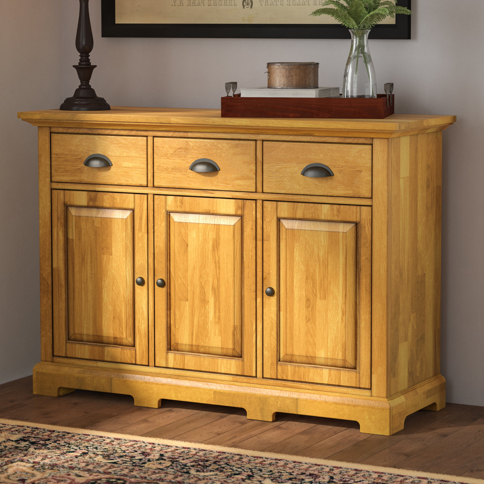 Sayles Sideboards Intended For Best And Newest Three Posts Fortville Sideboard (View 14 of 20)