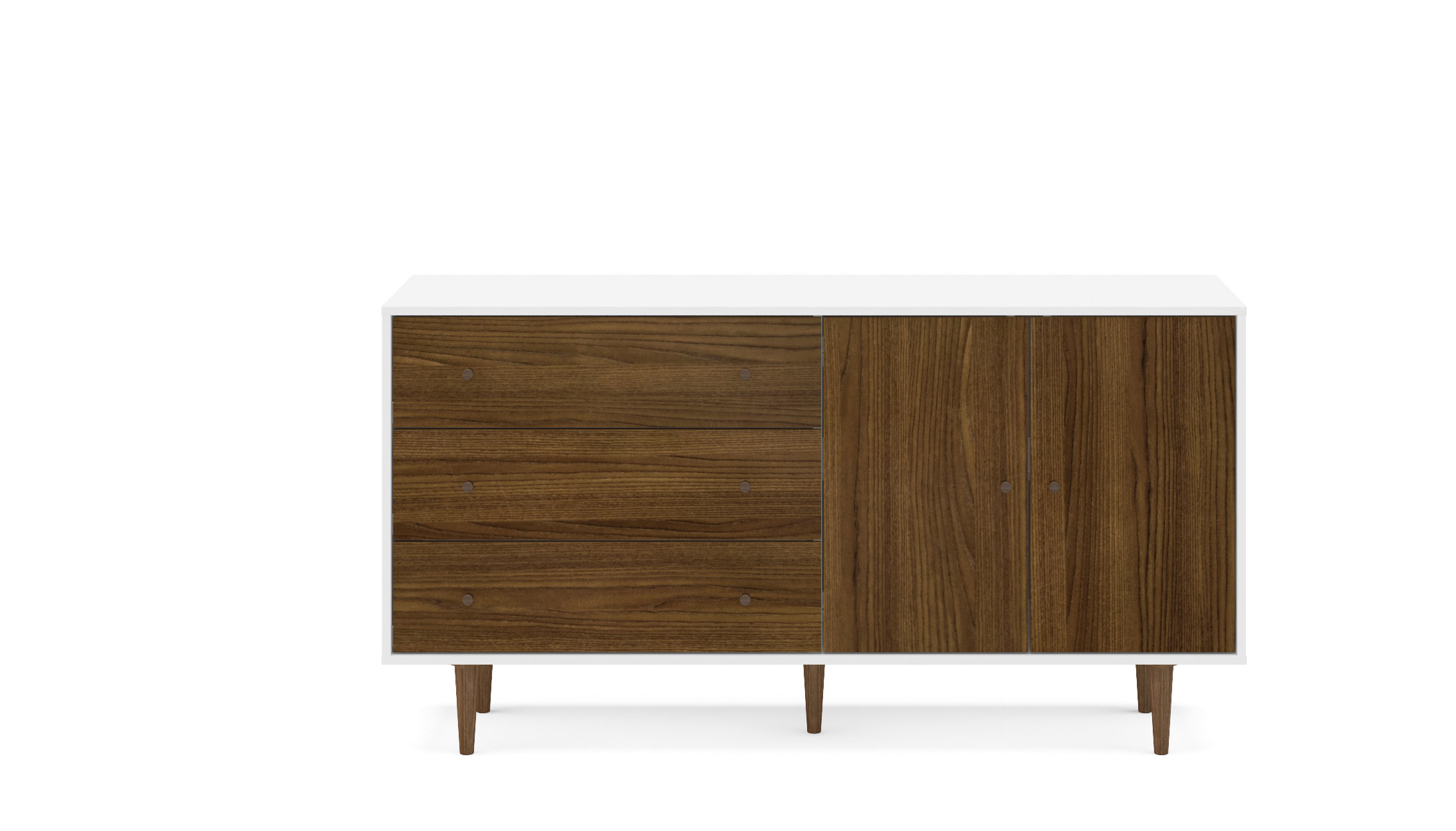 Schaeffer Sideboard Intended For Trendy Keiko Modern Bookmatch Sideboards (View 8 of 20)