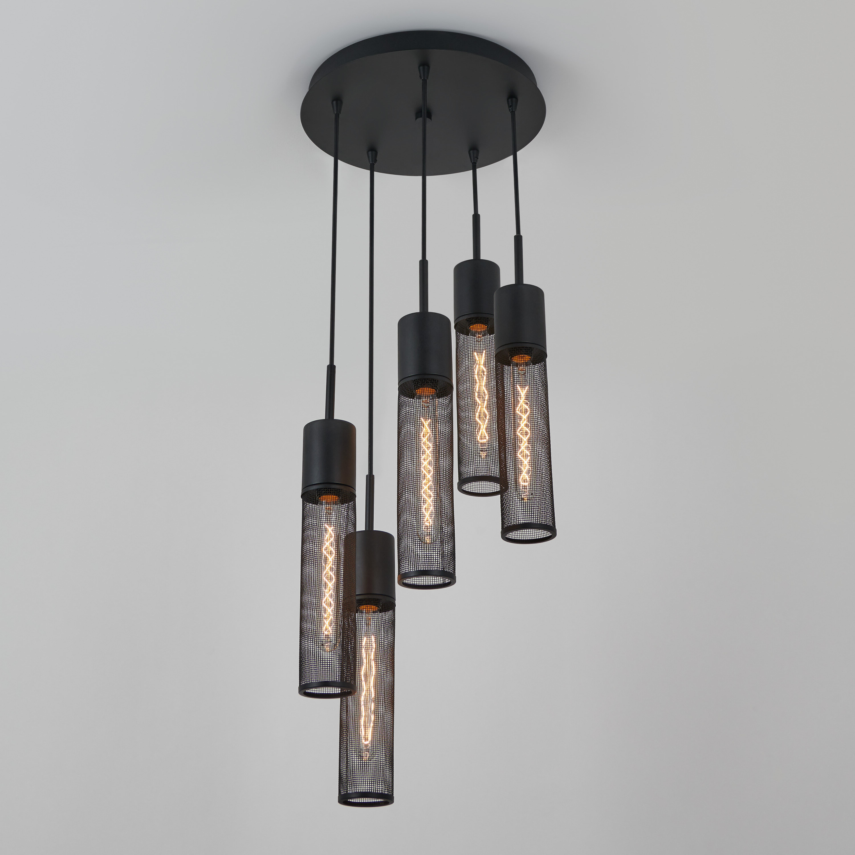 Featured Photo of Schutt 5 Light Cluster Pendants