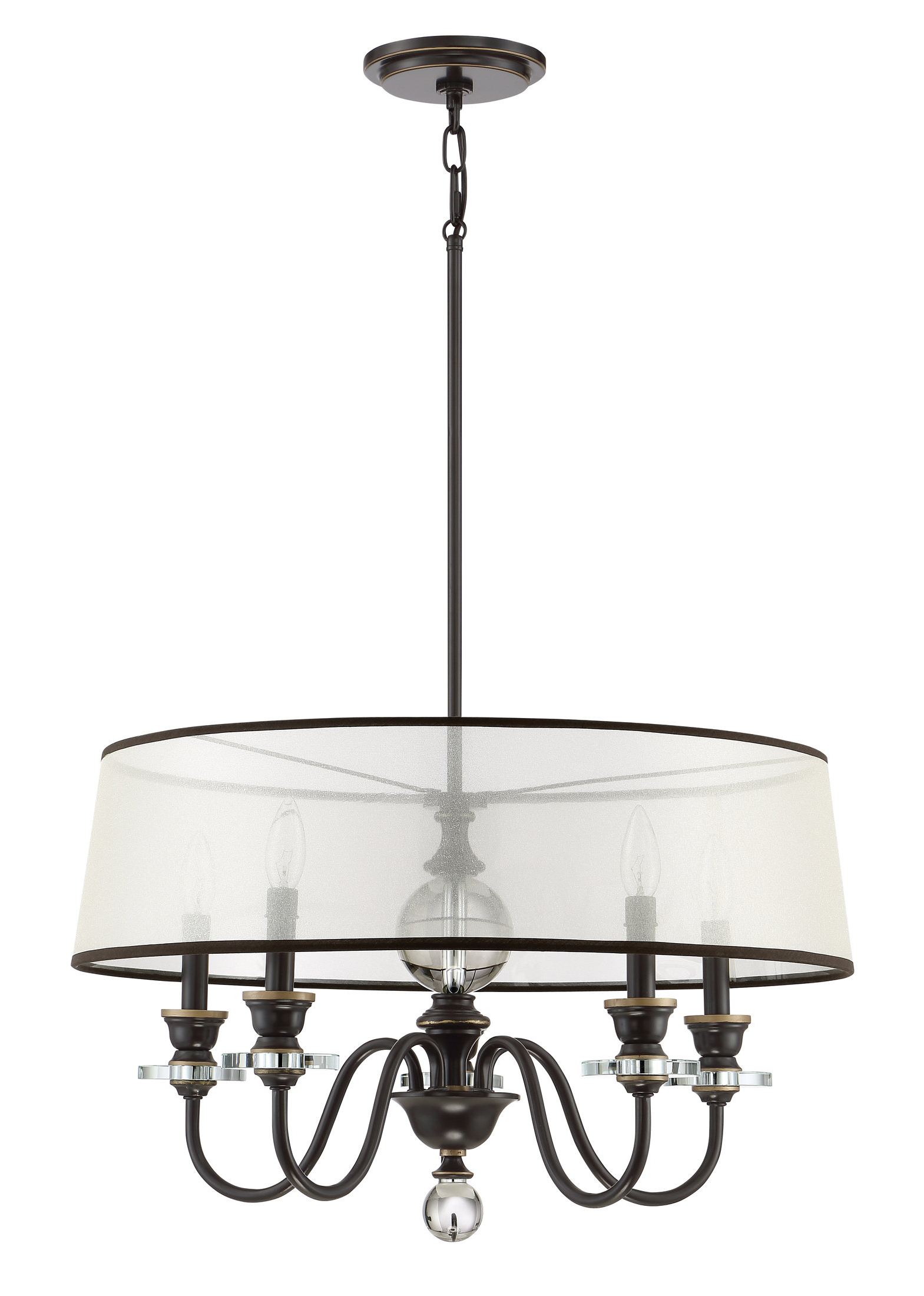 Seagraves 5 Light Drum Chandelier Throughout Current Burton 5 Light Drum Chandeliers (Gallery 12 of 20)