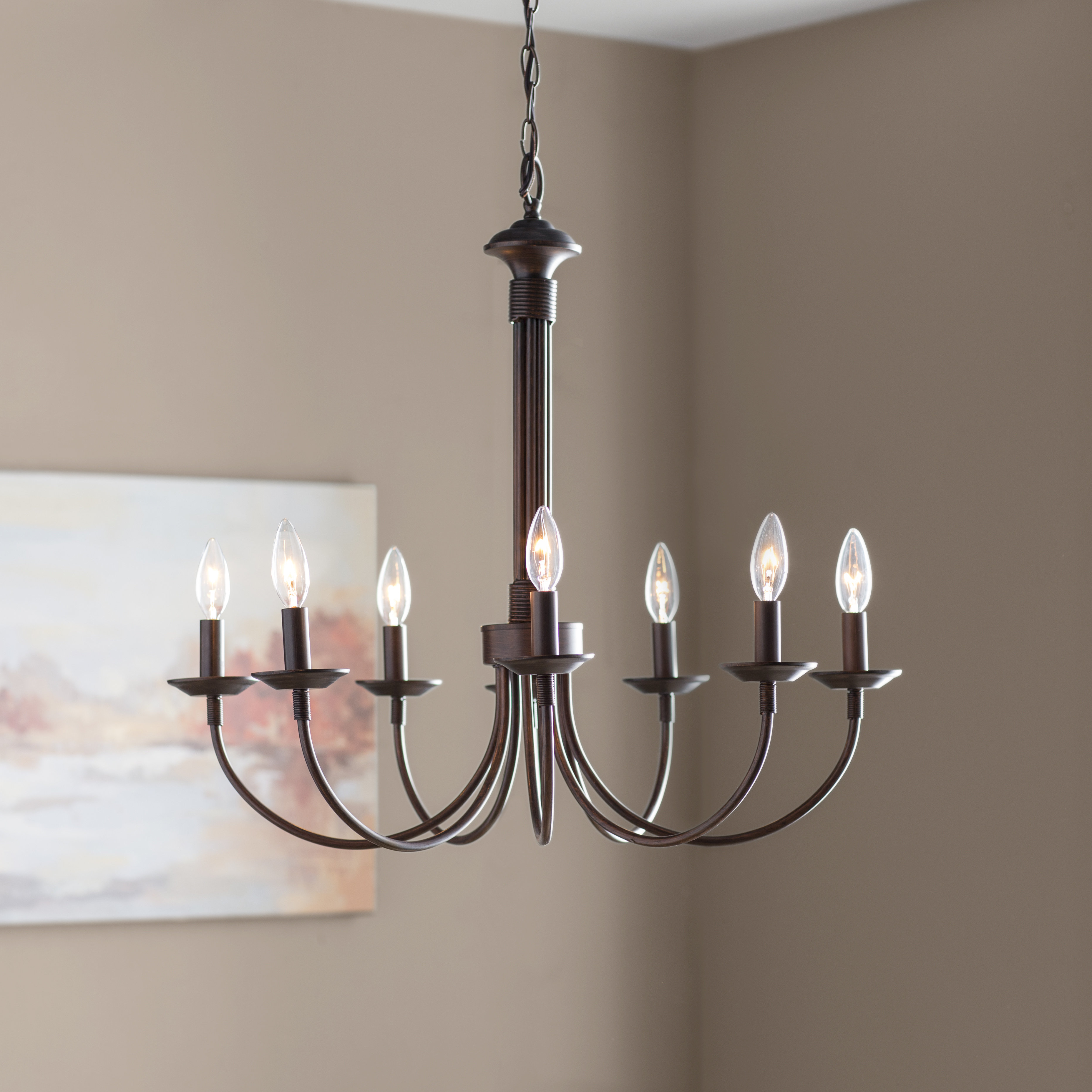 Shaylee 8 Light Candle Style Chandelier With Regard To Preferred Giverny 9 Light Candle Style Chandeliers (View 19 of 20)