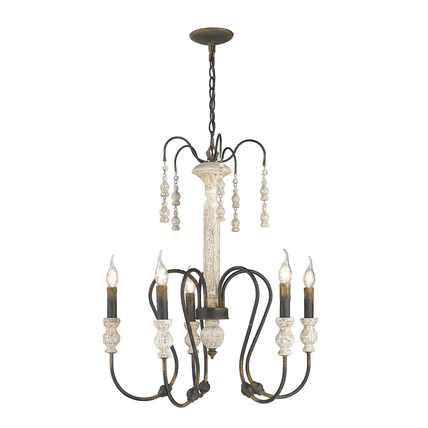 Sherrie 5 Light Candle Style Chandelier Intended For Recent Corneau 5 Light Chandeliers (View 17 of 20)