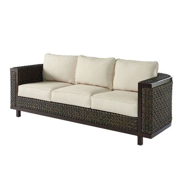 Shop A.r.t. Furniture Epicenters Outdoor – Brentwood Wicker Intended For Most Up To Date Brentwood Patio Sofas With Cushions (Gallery 9 of 20)