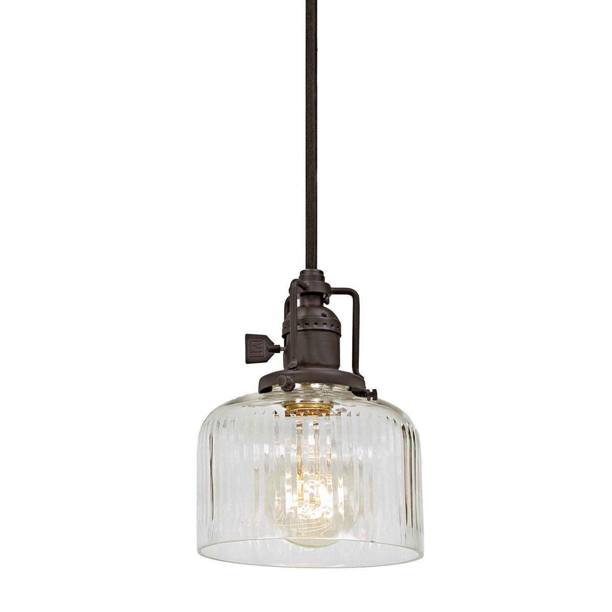 Shumway 1 Light Single Bell Pendant Within Latest Roslindale 1 Light Single Bell Pendants (View 16 of 20)
