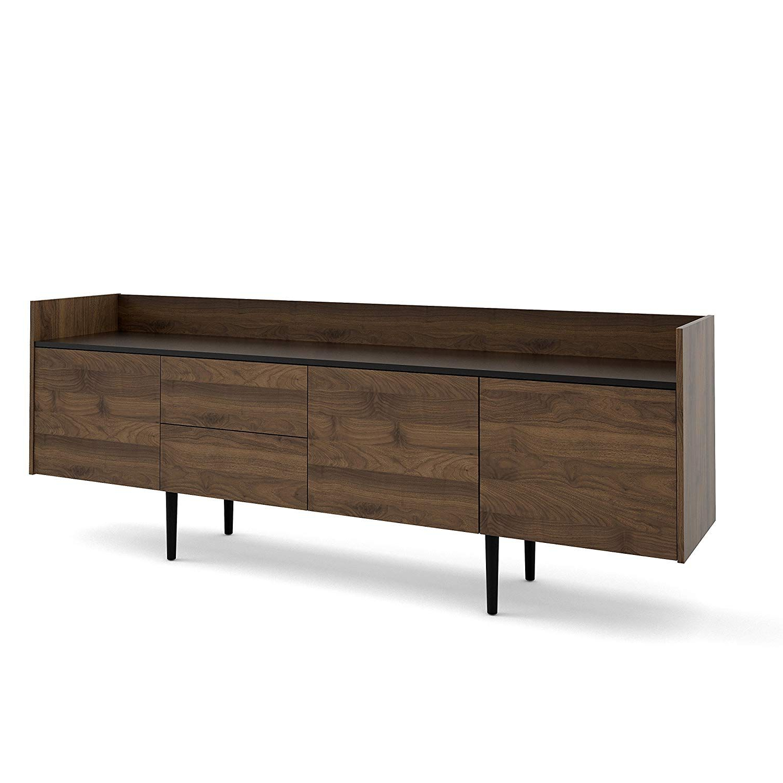 Sideboards By Foundry Select Regarding 2020 Amazon – Tvilum 70900Dj86 Unit 2 Drawer 3 Door Sideboard (Gallery 10 of 20)