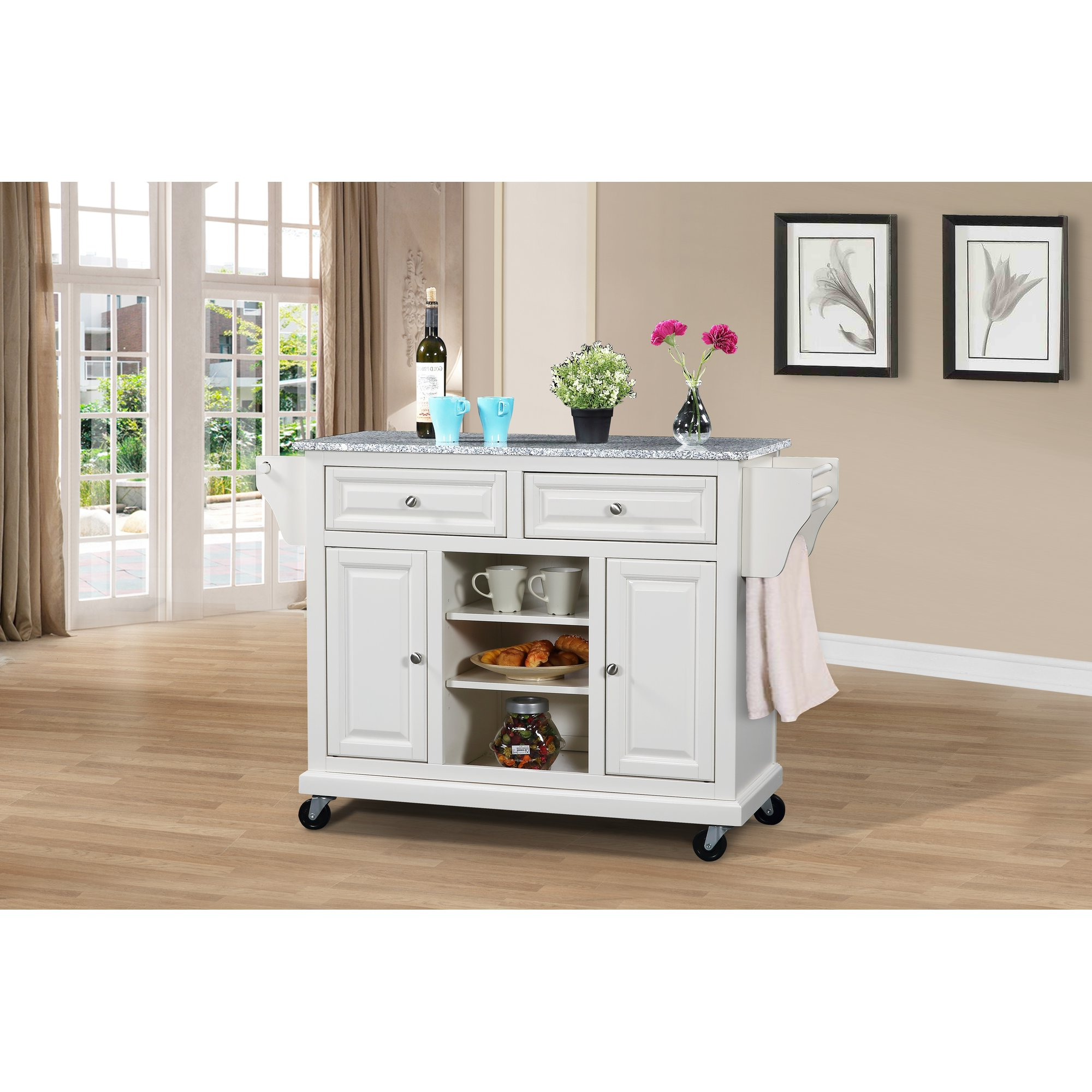 Sideboards By Wildon Home Inside Most Up To Date Wildon Home Kitchen Island With Granite Top Reviews New Age (View 14 of 20)