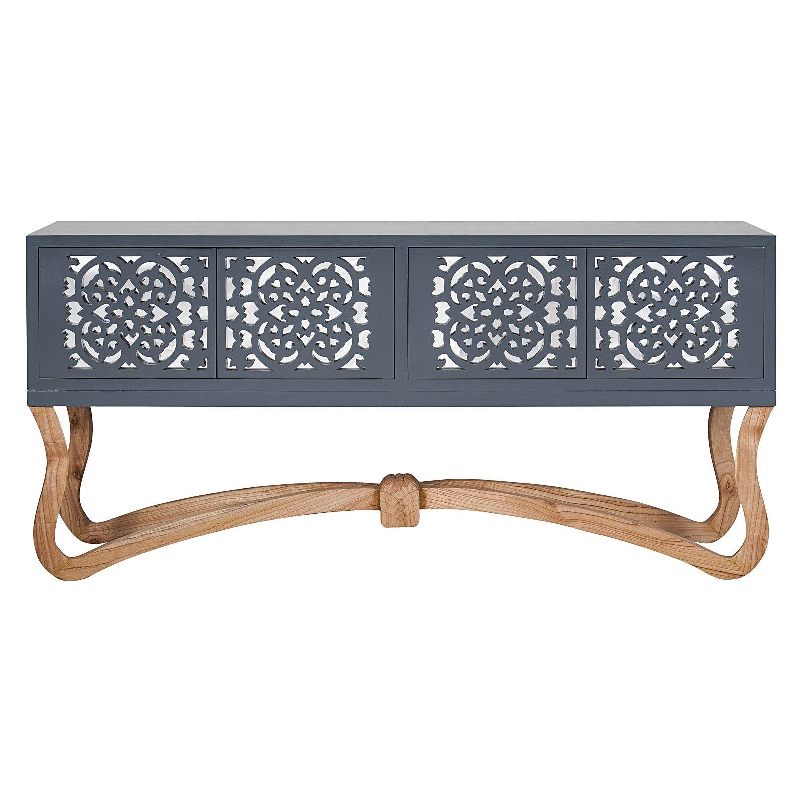 Sienna Sideboard, Grey, Large Inside Trendy Sienna Sideboards (View 6 of 20)