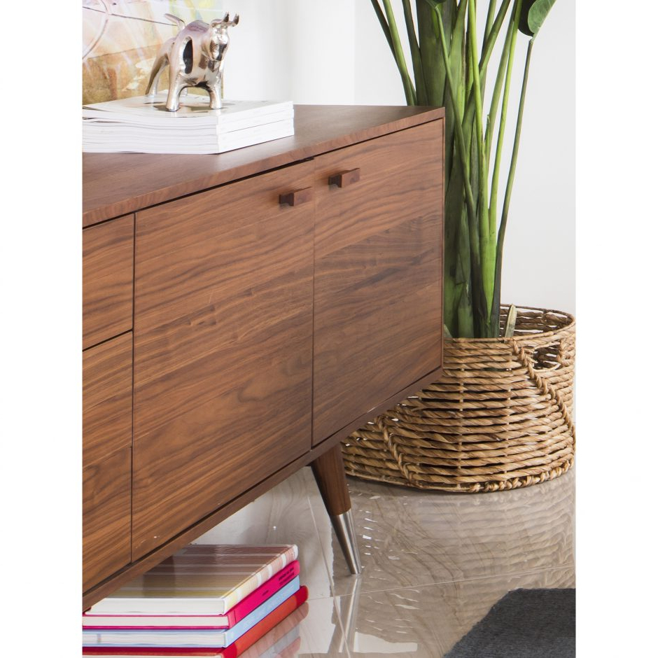 Sienna Sideboards Within 2019 Sienna Sideboard Walnut Large (View 4 of 20)