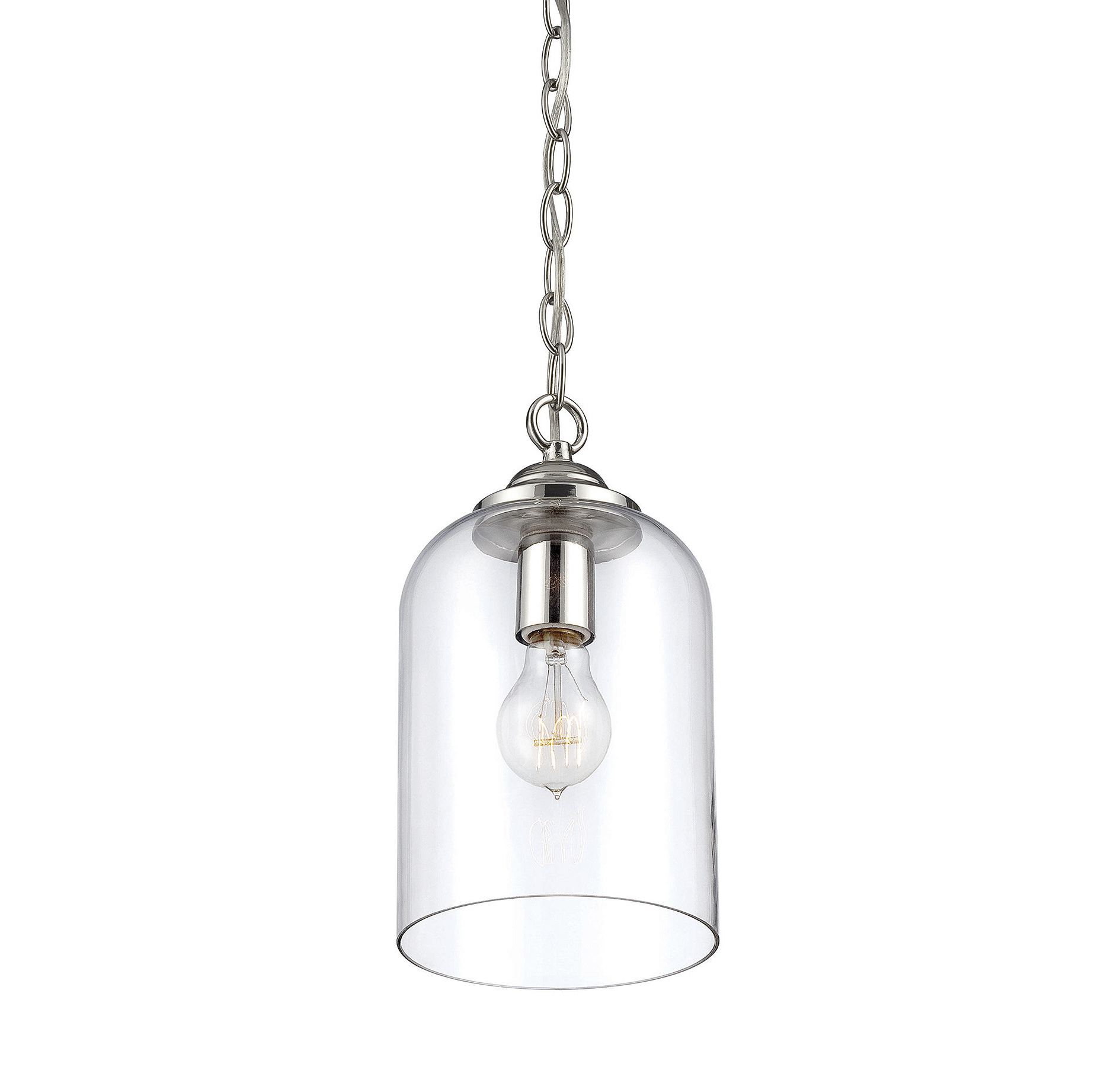 Silber 1 Light Single Bell Pendant Intended For Most Up To Date Goldie 1 Light Single Bell Pendants (View 9 of 20)