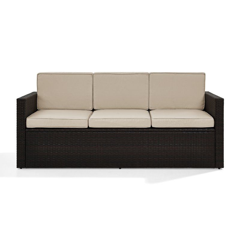 Sofa, Cushions With Regard To Yoselin Patio Sofas With Cushions (Gallery 8 of 20)