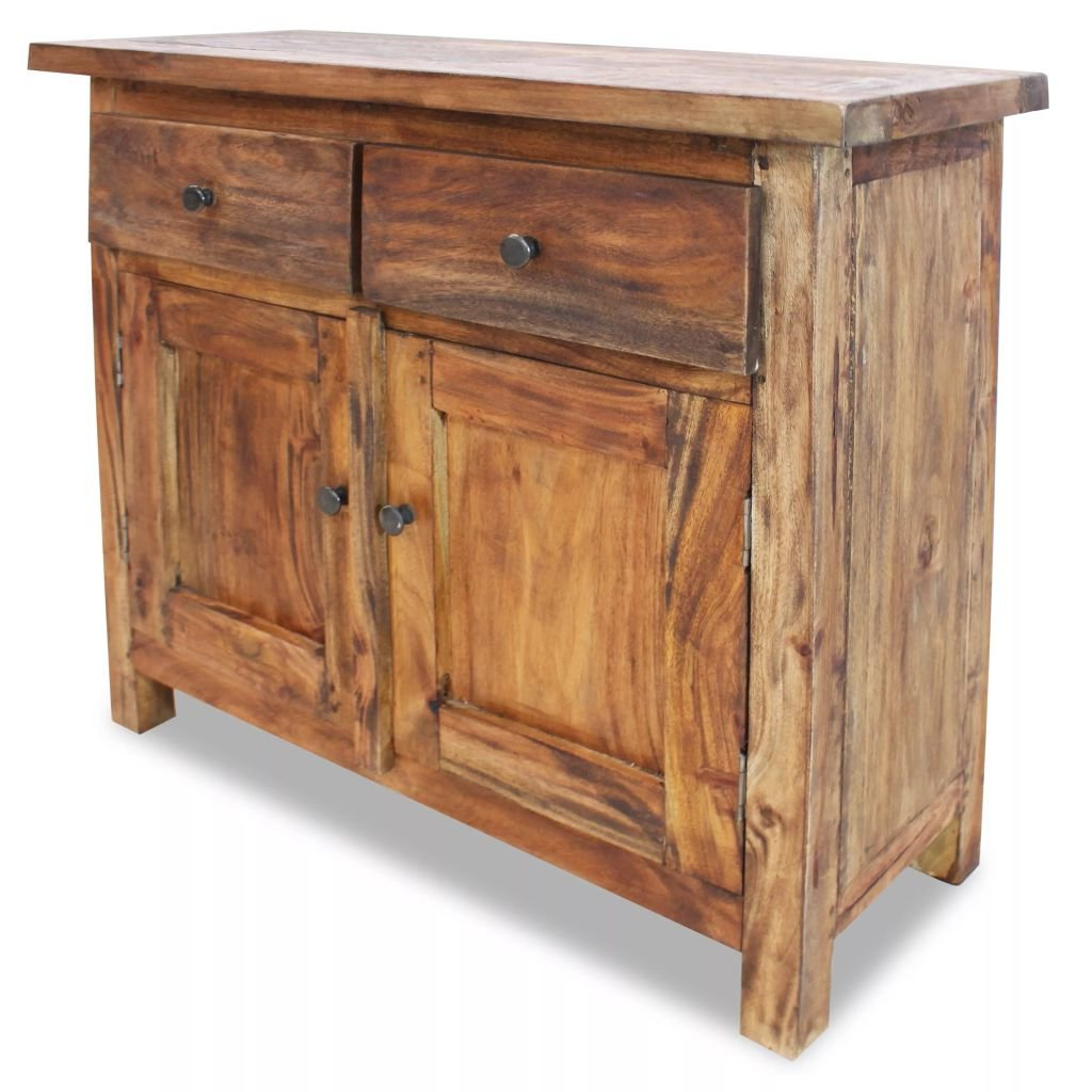 Solid Reclaimed Wood Sideboard With Regard To Most Current Gertrude Sideboards (Gallery 18 of 20)