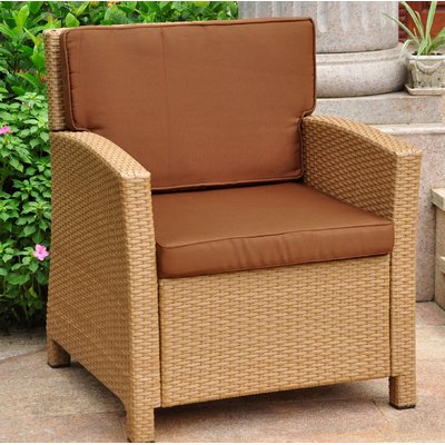 Stapleton Wicker Resin Patio Sofas With Cushions In Best And Newest Stapleton Wicker Resin Contemporary Patio Chair With Cushion (View 10 of 20)