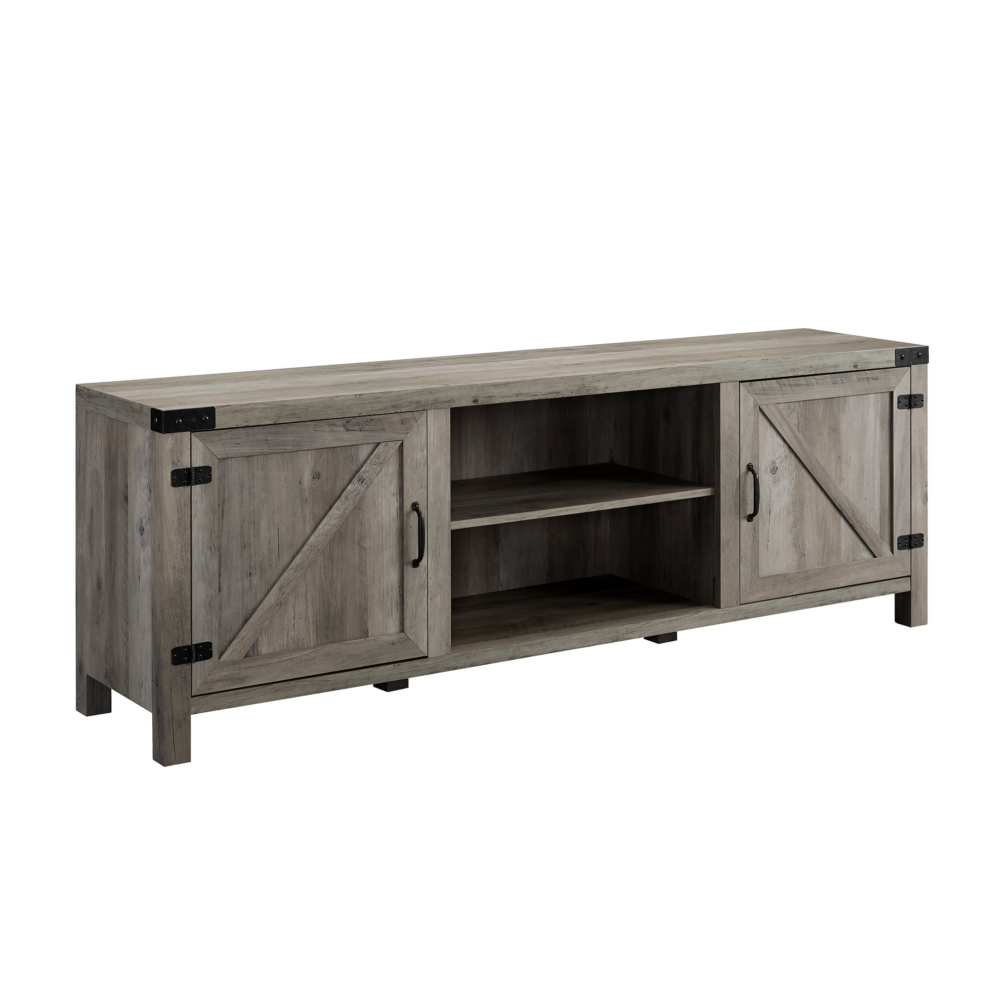 Steinhatchee Reclaimed Pine 4 Door Sideboards Within Widely Used Reclaimed Wood Media Cabinet (Gallery 11 of 20)