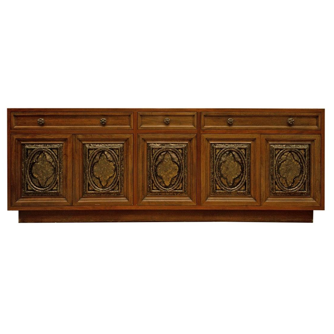 Stephen Credenzas Intended For Current Custom 9 Foot Credenzaflorence Knoll At 1Stdibs (Gallery 9 of 20)