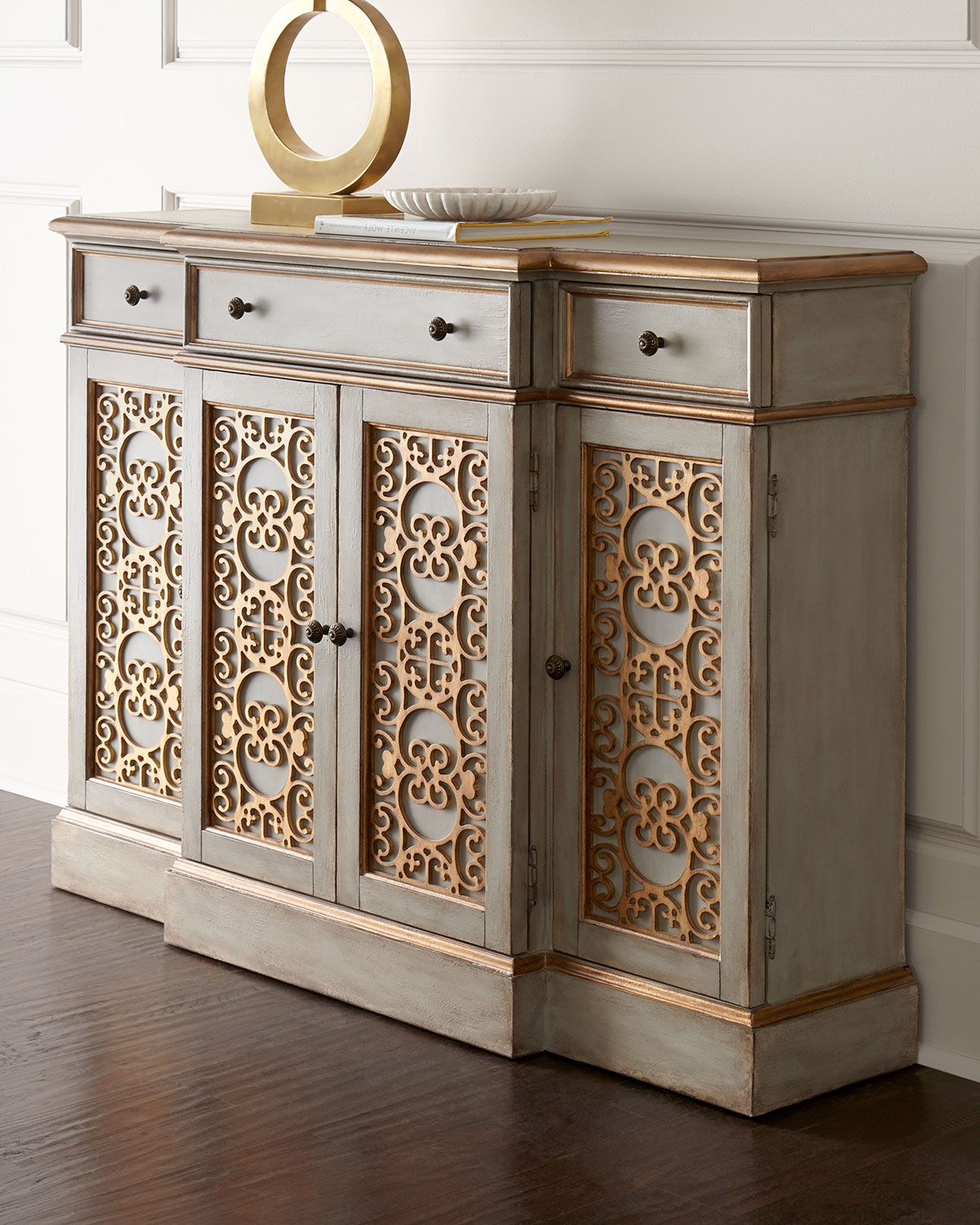 Stillwater Sideboards For 2020 Sideboard Features Intricate Doors Adorned With Scrolled (Gallery 8 of 20)