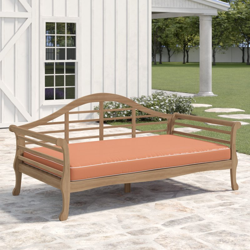 Summerton Teak Patio Sofa With Cushions With Regard To Most Current Summerton Teak Patio Sofas With Cushions (View 8 of 20)