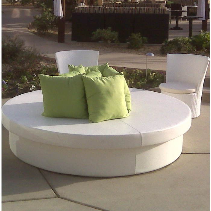 Sunpad Resort Patio Daybed Regarding Fashionable Resort Patio Daybeds (View 18 of 20)