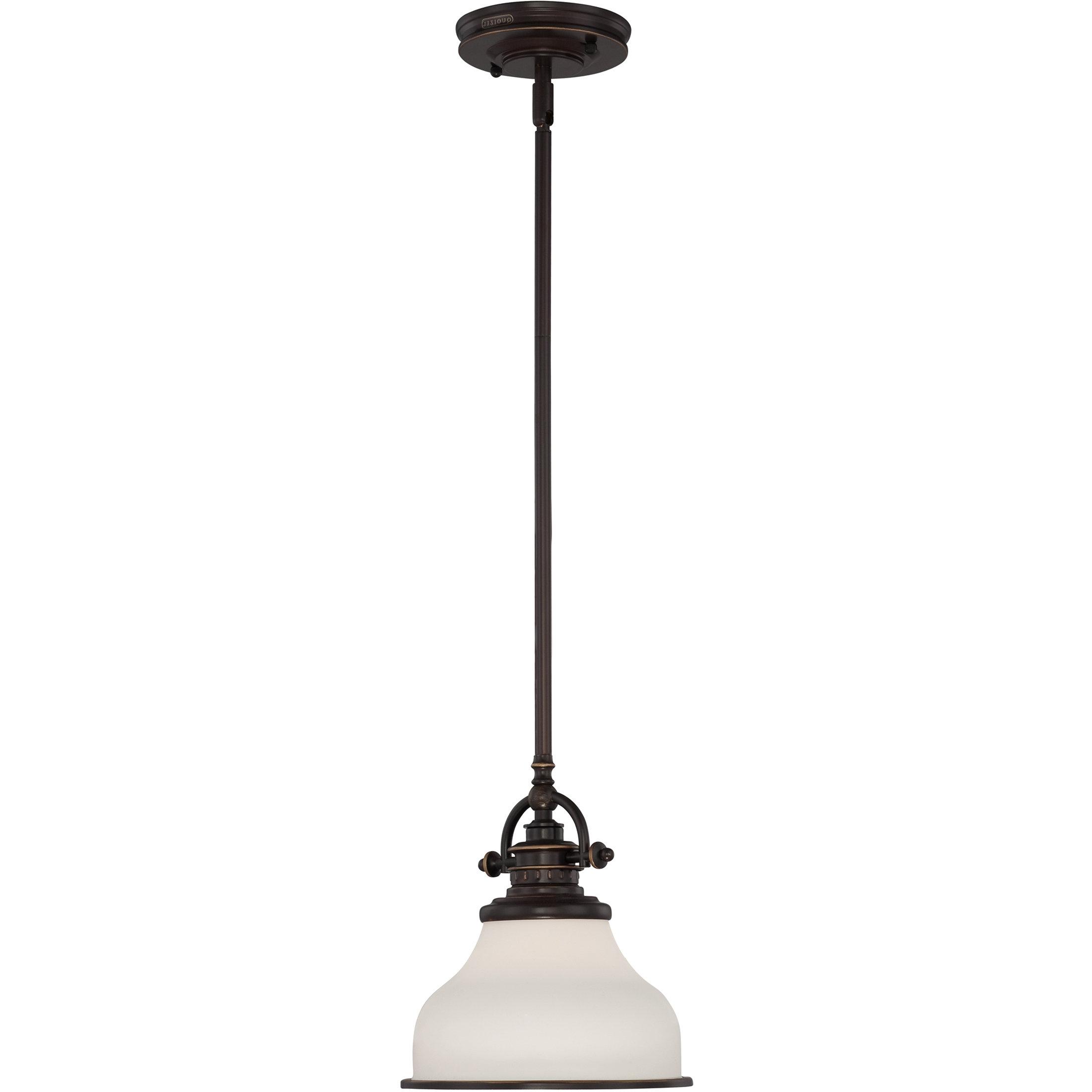 Sussex 1 Light Single Geometric Pendants Pertaining To Famous Macon 1 Light Single Dome Pendant (Gallery 20 of 20)