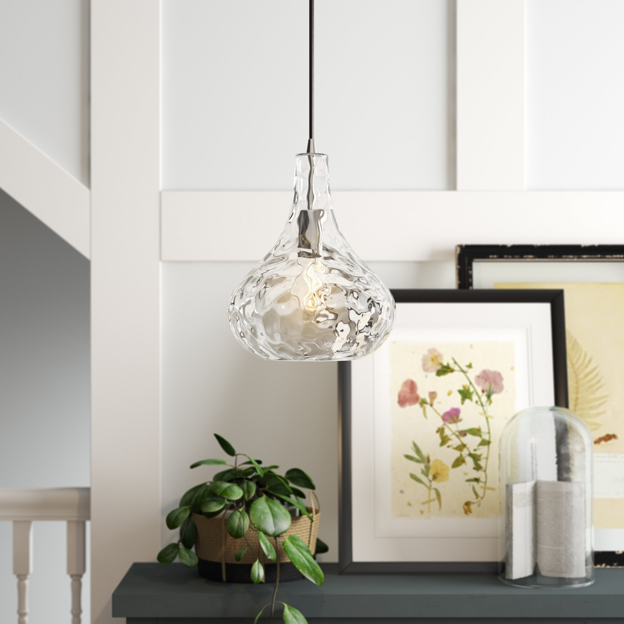 Sussex 1 Light Single Geometric Pendants With Regard To Most Popular 1 Light Single Teardrop Pendant (View 11 of 20)