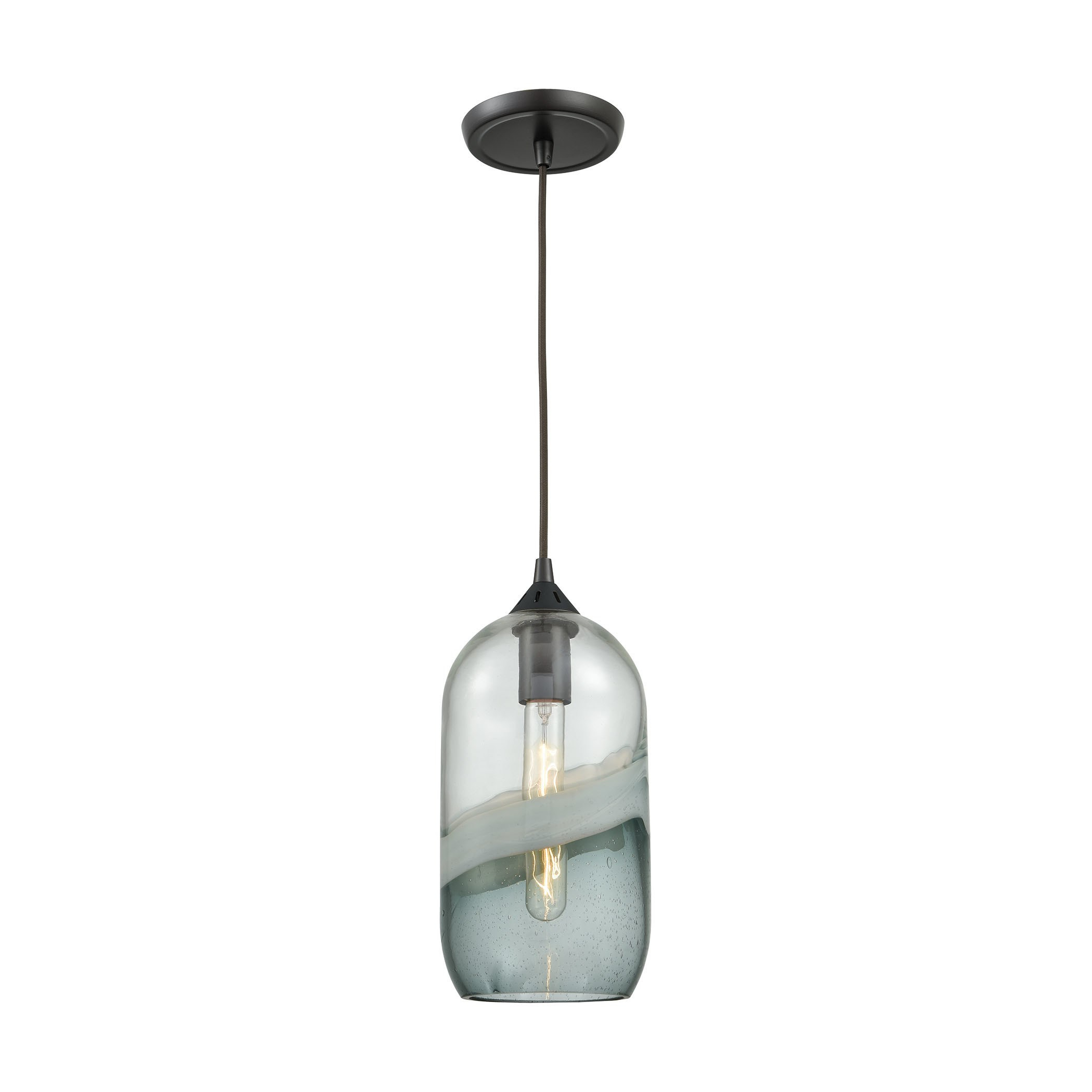 Sutter Creek 1 Light Pendant, Oil Rubbed Bronze In 2019 Pertaining To Most Popular Moris 1 Light Cone Pendants (Gallery 11 of 20)