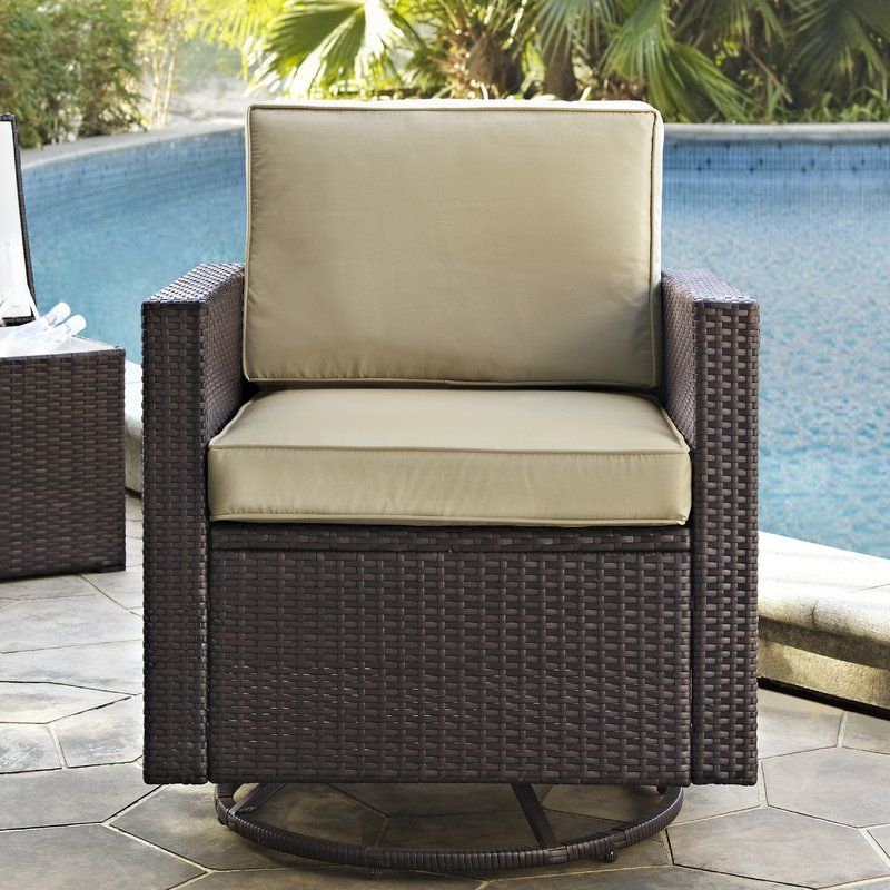 Swivel With Regard To Belton Patio Sofas With Cushions (View 11 of 20)