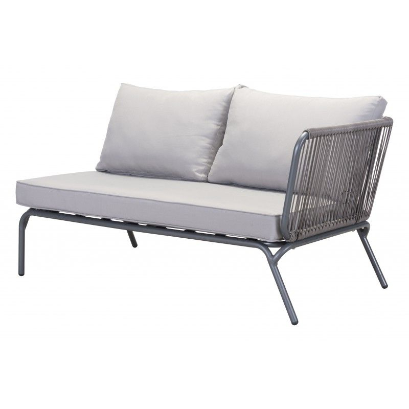 Sylvania Outdoor Loveseats In Famous Pier Laf Double Seat Gray (View 13 of 20)