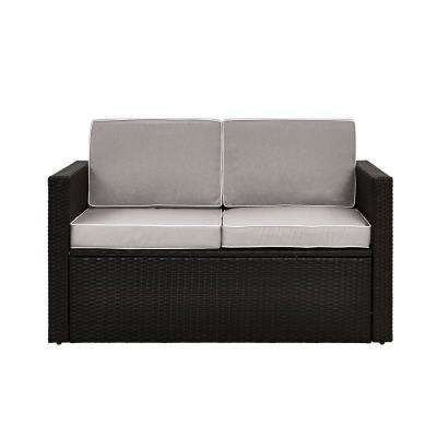 Sylvania Outdoor Loveseats Within Trendy Crosley – Free Shipping – The Home Depot (View 18 of 20)
