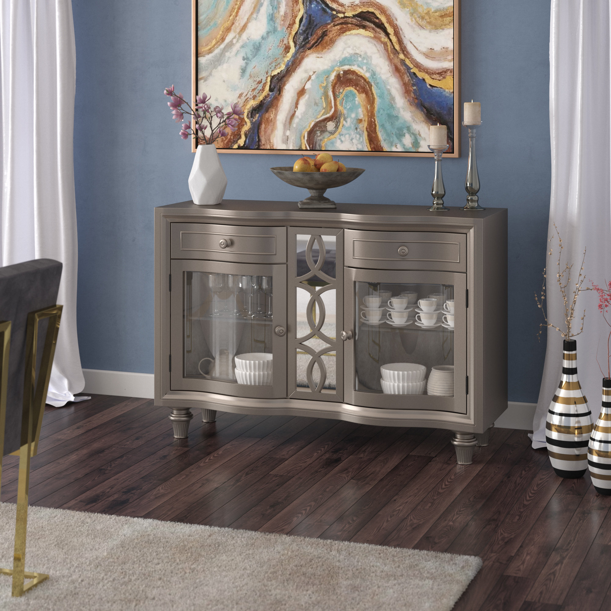 Sylvester Sideboard Within Well Known Emmaline Sideboards (Gallery 11 of 20)