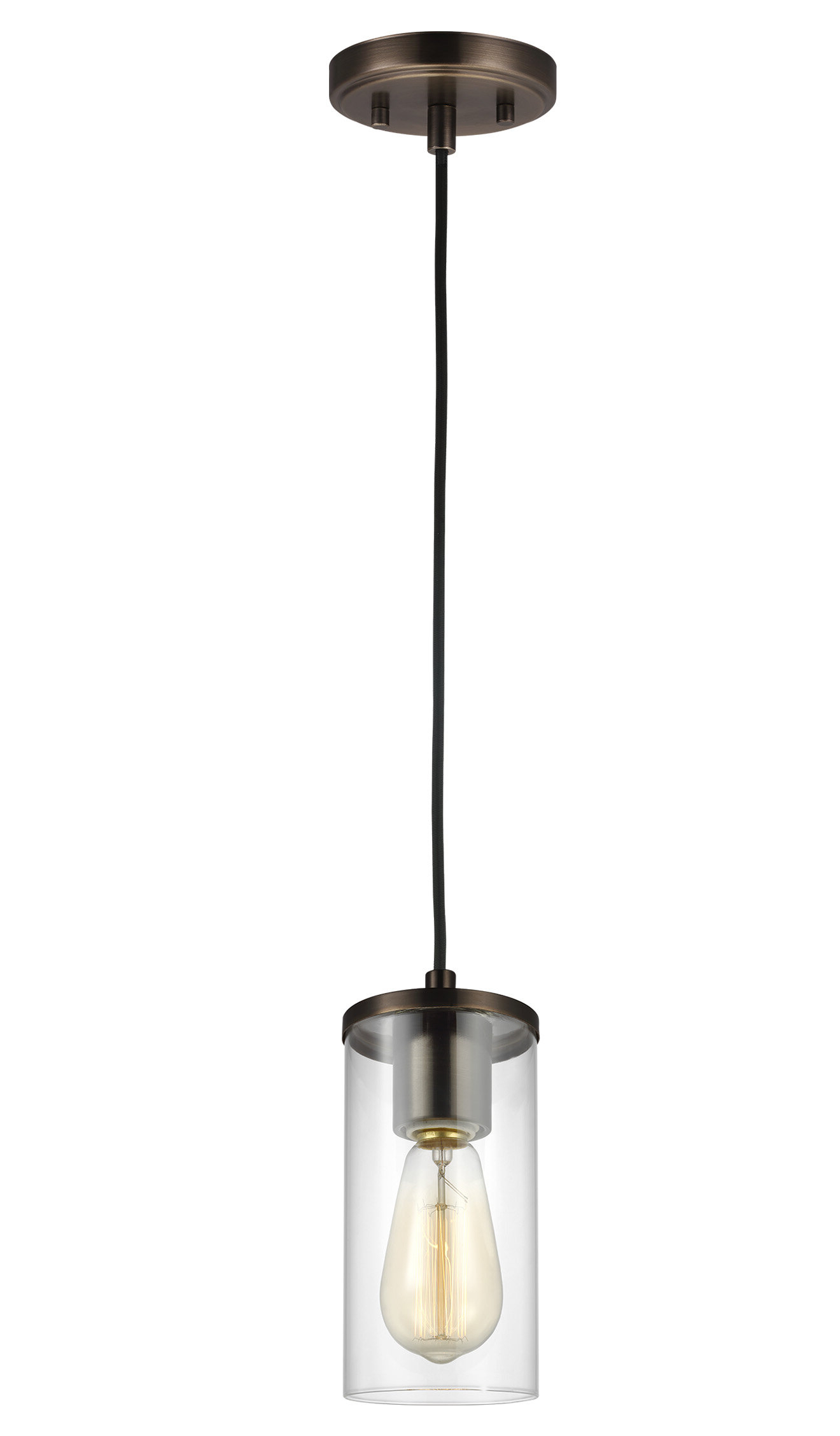 Tallapoosa 1 Light Single Cylinder Pendant For 2019 Jayce 1 Light Cylinder Pendants (View 6 of 20)